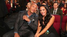The Rock is not up for any Golden Globe Awards this year, but the Johnson family will still be well represented at the awards ceremony. Dwayne Johnson's daughter Simone Garcia Johnson is taki… Rock Johnson, Dwayne Johnson, Dwayne The Rock, Wwe The Rock, Img Models, Oprah Winfrey, The Rock Daughter, Father Daughter, Famous Wrestlers