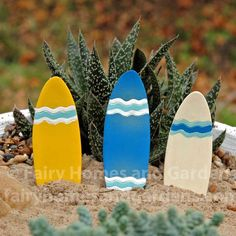 Miniature Beach-Themed Accessories | Fairy Garden Accents