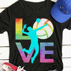 Love Volleyball 157 Great volleyball t shirt/mug/bag gift for family, friends, volleyball players, volleyball lovers or any women, men, girls, boys you know who loves volleyball. - get yours by clicking the link in my profile bio. Volleyball Pictures, Volleyball Players, Great T Shirts, Gifts For Family, You Got This, Profile, Lovers, Hoodies, Tees