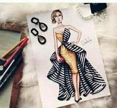 Fashion Ilustration Template Dress 20 Best Ideas Source by fashion drawing Dress Design Drawing, Dress Design Sketches, Fashion Design Sketchbook, Fashion Design Drawings, Dress Drawing, Fashion Sketches, Fashion Drawing Dresses, Fashion Illustration Dresses, Dress Illustration