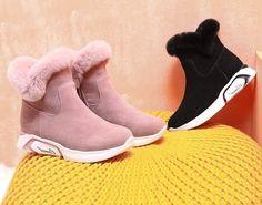 c3c53542f Botas De Nieve Peludas Hasta El Tobillo Zapatos De Invierno Para Damas  Camel  fashion