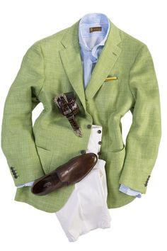 Kiton Sebastiano Sport Coat In Green - Men's Tailored Sport Coats   Axel's