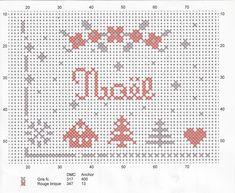Petit Noël diagramme prpopsé pa Au Claire de fil.