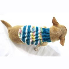 Myknitt Cotton Handmade Crocheted Dog Harnesses Leash Pet Clothing Custom Sweater DH18 (Small) -- Be sure to check out this awesome product.