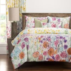 Siscovers Whimsical Wildflower 6-piece Duvet Cover Set