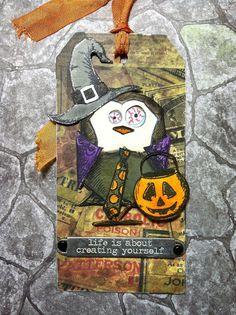 The Wandering Buckeye...Creates: October Tag Time!!