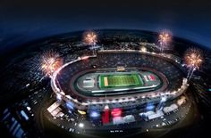 The Vols are playing football at Bristol Motor Speedway today.  God Bless America!