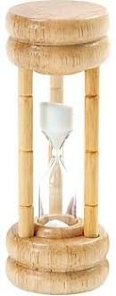 Norpro 1473 3 Minute Egg Timer Wood Hourglass Style