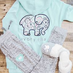 Ivory Ella Loungewear | Hoodie Sweatshirt | Slippers | Joggers | Ivory Ella Sweatshirts