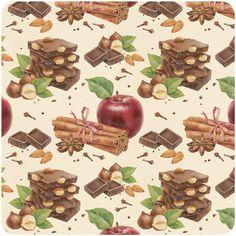 This artist is truly amazing!   Chocolate patterns by Natalia Tyulkina, via Behance