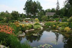Boothbay Harbor - botanical gardens