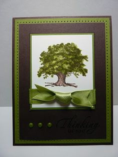 This stamp set is so versatile - perfect for almost any occasion. I like all three versions of this card!