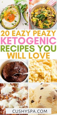 These super easy keto recipes are perfect if you are a keto beginner looking for delicious low carb meal ideas. These tasty ketogenic dishes will help you learn what to eat on keto diet more easily. #KetoDiet #Ketogenic Keto Beginner, Keto Diet For Beginners, Recipes For Beginners, Low Carb Meal Plan, Low Carb Diet, Ketogenic Recipes, Low Carb Recipes, Ketogenic Diet, Starting Keto Diet