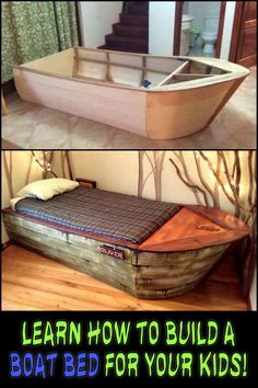 This DIY Boat Bed Combines Both Creativity And Function