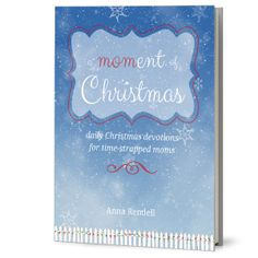 A Moment of Christmas: cover design