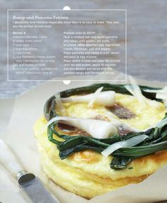 Sweet Paul Magazine - Spring 2010 - Ramps and Pancetta Frittata