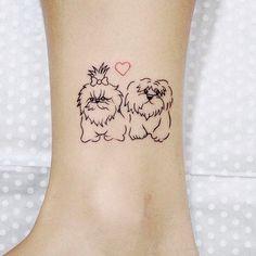 Tatuagem de cachorro                                                                                                                                                                                 Mais