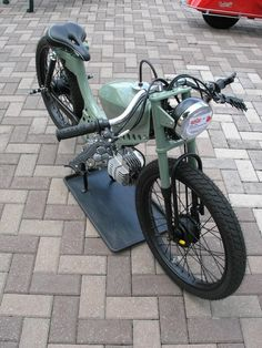 Not quite one, but where else do I pin it?  Puch JC Penny Flyer moped '72