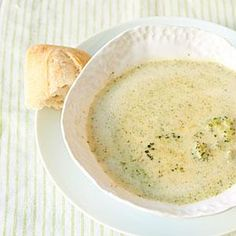 Broccoli and Cheese Soup Recipe | MyRecipes.com