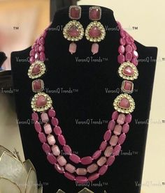 Semi Precious Beads, Sabyasachi, Jewelry Party, Stone Carving, Men Necklace, Necklace Designs, Jewelry Trends, Gemstone Jewelry, Jewelry Collection