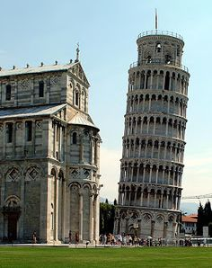 Pisa, Toscana. Torre pendente, Piazza dei Miracoli