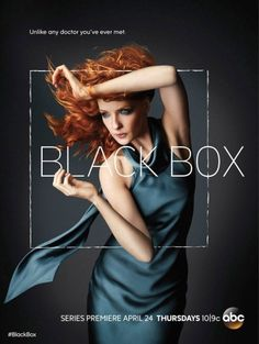 The Black Box. My new fav show - a definite watch - the main character is a physican diagnosed with biopolar disorder and what makes this completely deranged is she is a Neurologist - go figure!