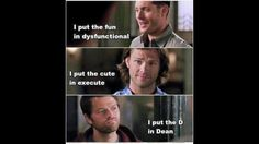 I put the D in Dean