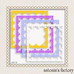 freebies de antonia's factory: cenefas para papel