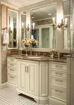 Nob Hill Highrise - traditional - bathroom - san francisco - Tres McKinney Design