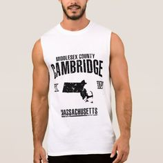Cambridge Sleeveless Shirt - cool gift idea unique present special diy