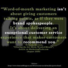 Do you use #socialmedia as a customer service source? If so, how?