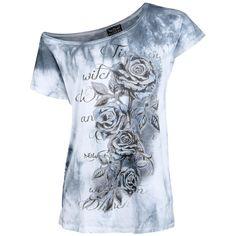 """Alchemy England T-Shirt, Frauen """"Dies Words"""" weiß • jetzt online bestellen • EMP"""