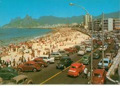 Ipanema na década de 60.
