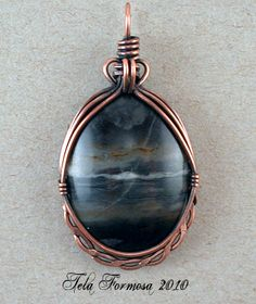 Great frame for a cabochon!                                                                                                                                                                                 More