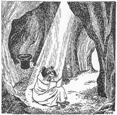 """A Hermit in Tove Jansson's """"Moomin"""" Books - Articles - Hermitary"""
