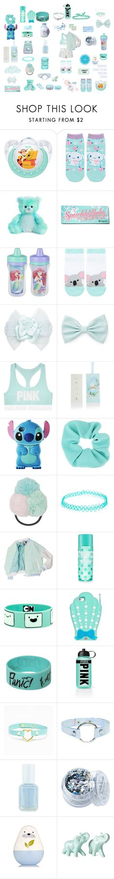 """aesthetic baby"" by unicorn-923 ❤ liked on Polyvore featuring Disney, Sugarpill, Au Jour Le Jour, Forever 21, CachCach, Monsoon, Topshop, Hot Topic, Victoria's Secret PINK and Kate Spade"