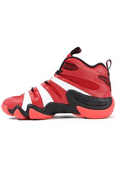 Adidas Sneaker Crazy 8 in red   white Adidas Fashion 5a6d20ae7
