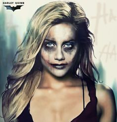 Harley Quinn Brittany Murphy Smile Black Red