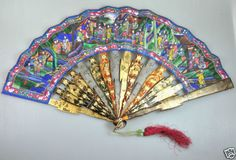 Antique Chinese Fans for sale Hand Held Fan, Hand Fans, Chinese Fans, Fans For Sale, Fan Decoration, Vintage Fans, Antique China, Beautiful Hands, Fairy Tales