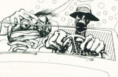 Google Image Result for http://images5.fanpop.com/image/photos/30500000/Ralph-Steadman-illustration-fear-and-loathing-in-las-vegas-30508894-488-319.jpg