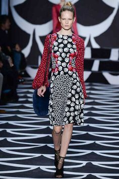 Rampantly colorful and pattern happy.  Diane von Furstenberg Fall 2014 Ready-to-Wear Collection Slideshow on Style.com