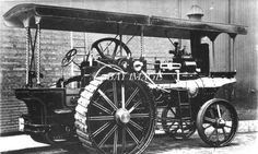 TR 5 PHOTOGRAPH STEAM TRACTION SINGLE CYLINDER SHOWMANS ENGINE in Collectables, Postcards, Transportation | eBay