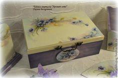 """Купить Чайная шкатулка """"Аромат лета"""" - чайный набор, набор для кухни, чайная коллекция"""