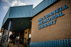 McConnell Memorial Library in Sydney, NS