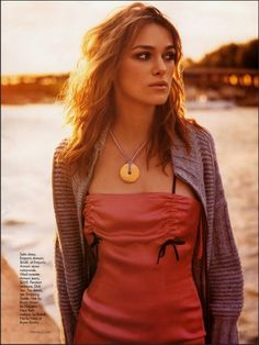 Keira Knightley for Elle magazine... one of my absolute favorite shots of her.
