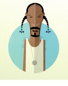 Minimalist Posters of Your Favorite Rappers