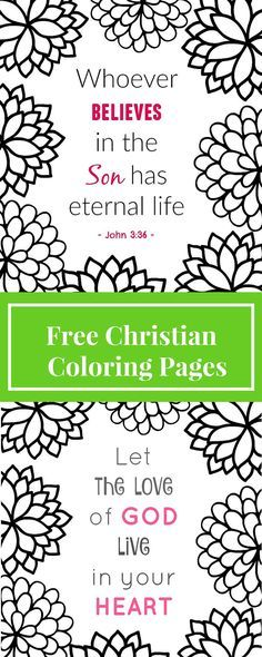 Free Printable Christian Coloring Pages