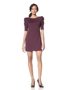 08c9e3ce71de Jessica Simpson Women's Cowl Sleeve Dress (Black Currant) Jessica Simpson  Dresses, Black Currants