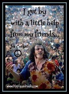 Joe Cocker Quote! ✌❤ Music Love, Listening To Music, My Music, Peace Love Happiness, Peace And Love, Hippie Quotes, Joe Cocker, Poem Quotes, World Music