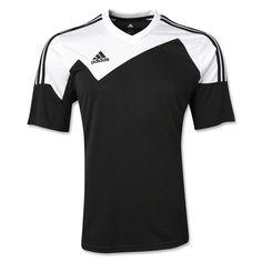 35716dd09c6 adidas Men s Toque 13 Jersey Black White Adidas Kids
